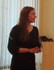 Linda Margittai's successful dissertation defense